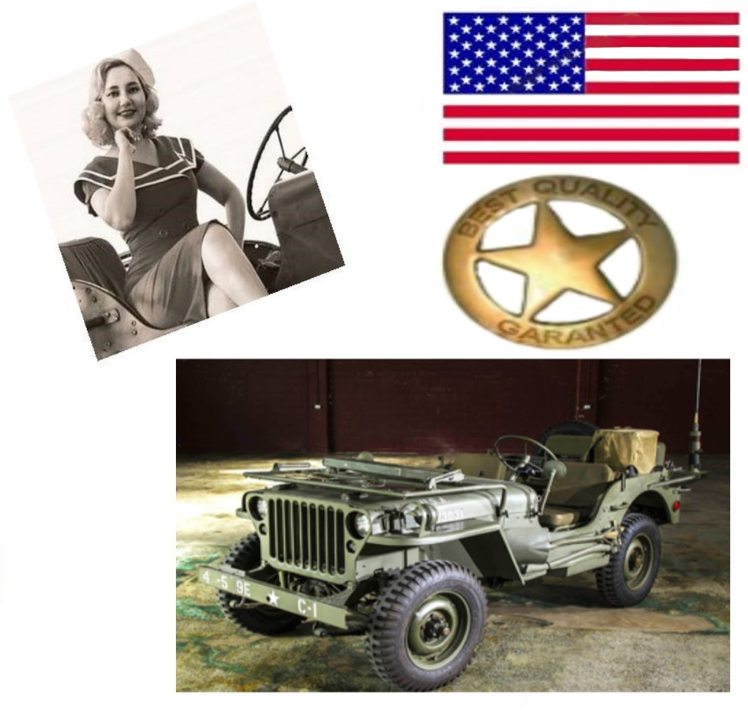 JEEP FORD, WILLYS,HOTCHKISS M201